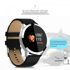 Q8 IP67 Waterproof Fitness Watch Heart Rate Monitor Pedometer Smart Bracelet Blood Pressure Oxygen Smart Wristband