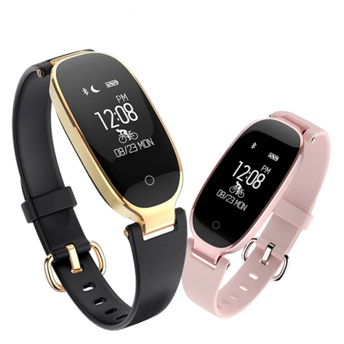 ESTGOSZ S3 Heart Rate Monitor Smart Wristbands Fitness Bracelet Fitness Bracelet IP68 Waterproof Bluetooth For IOS Android