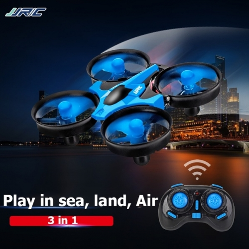 2019 [Sea Land & Air 3 Mode] RC Quadcopter Remote Control Drone, Vehicle Car & Boat RC toy for kids