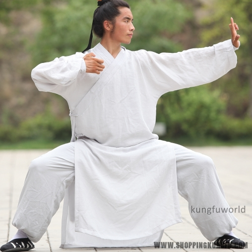 24 Colors Linen  Wudang Taoist Robe Tai chi Suit