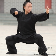 Custom Make 24 Colors Women's Daily Training Martial arts Tai Chi Suit