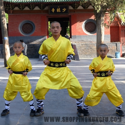 Silk Satin Shaolin uniform Kung fu Suit Wushu Martial arts