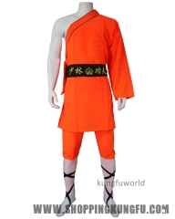 Classic One-sleeve Shaolin Monk Daily Training Suit Martial arts Wushu Uniforms
