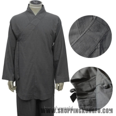 Top Quality Linen Buddhist Monk Meditation Suit Shaolin Arhat Monk Kung fu Uniform Martial arts Suit