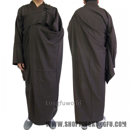 2 Pieces Buddhist Monk Kesa Haiqing Robe Meditation Dress