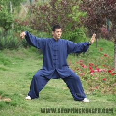 Soft Comfortable Cotton Kung fu Tai chi Uniform Martial arts Wing Chun Suit