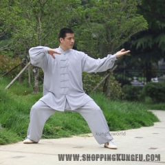 High Quality Tai chi Uniform Martial arts Kung fu Wing Chun Suit Jacket Pants