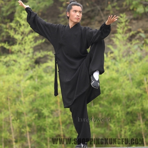 24 Colors Linen Martial arts Kung fu Tai chi Uniform Taoist Robe