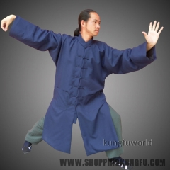 Wudang Taoist Robe Tai chi Uniform Martial arts Clothes Kung fu Wing Chun Suit