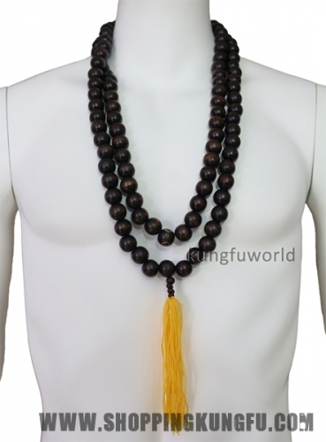Shaolin Buddhist Monk Prayer Beads Necklace for Robes Kung fu Uniforms