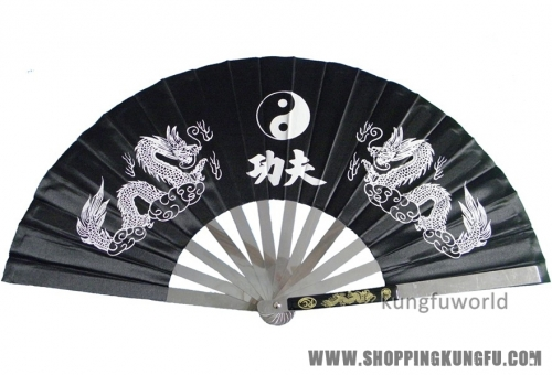 Stainless Steel Tai chi Kung fu Fan Martial arts  Wushu Weapons