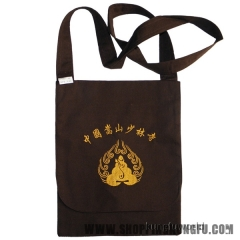 High Quality Shaolin Kung fu Fans Buddhist Bag with Beautiful Culture Embroidery