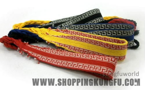 Shaolin Monk Qigong Belts Cotton Wushu Martial arts Kung fu Wing Chun Sashes