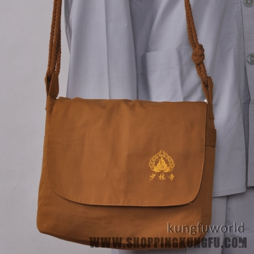 Shaolin Monk Buddhist Bags with Embroidery Buddhism Backpack 4 Colors