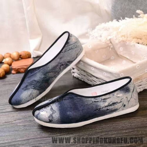 Cotton Cloth Buddhist Monk Shoes Shaolin Kung fu Taoist Tai chi Wushu Sneakers