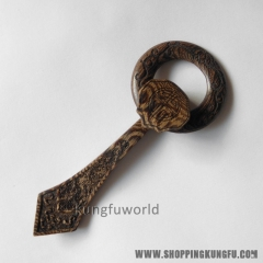 Buddhist monk accessories Wenge wood Hook and Ring set for Kesa robes
