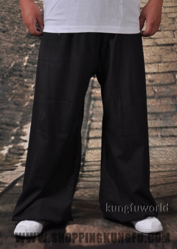 Soft Lightcotton Shaolin Kung fu Tai chi Pants Martial arts Wing Chun Trousers