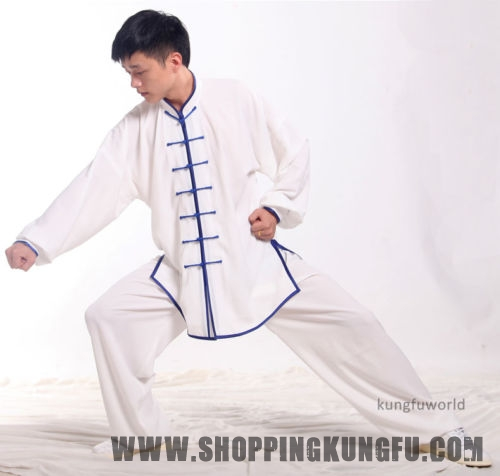 Cotton & Silk Tai chi Uniforms Wing Chun Kung fu Suit Martial arts Uniforms