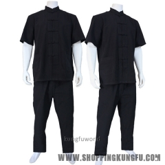 Cotton Tai chi Wing Chun Suit Martial arts Kung fu Wushu Shaolin Monk Uniforms