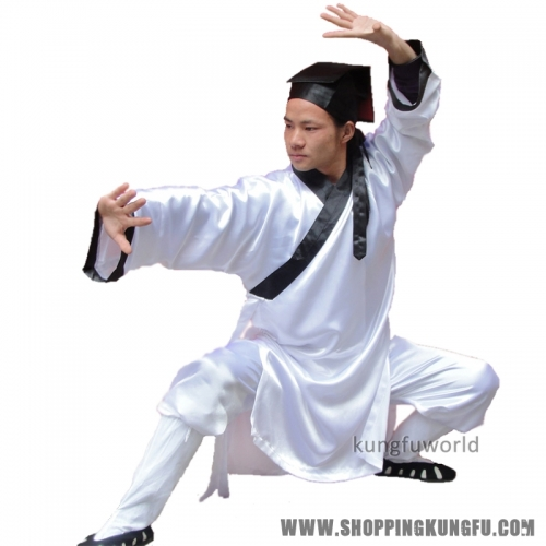Wudang Taoist Robe Kung fu Uniform Tai chi Wing Chun Martial arts Suit