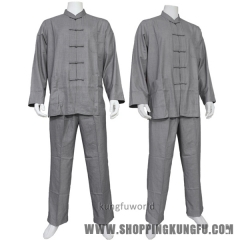Buddhist Monk Meditating Uniform Martial arts Tai chi Kung fu Wing Chun Suit