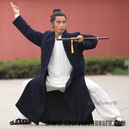 Wudang Taoist Winter Robe Kung fu Tai chi Uniform Martial arts Wing Chun Suit