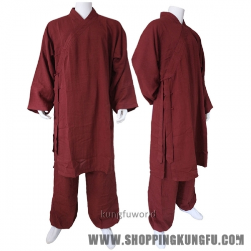24 Colors Shaolin Wudang Taoist Robe Tai chi Uniform Martial arts Kung fu Suit