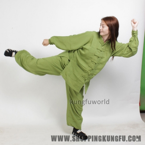 Women's Tai chi Uniform Kung fu Wing Chun Martial arts Morning Excercise Suit