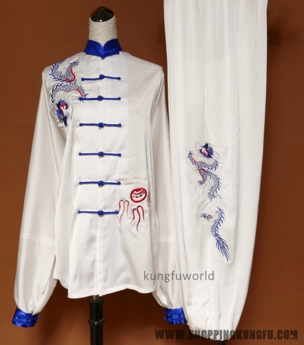 Embroidery Tai chi Wushu Uniform #12