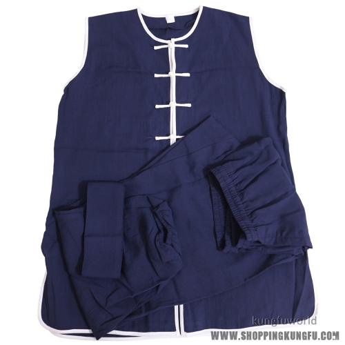 custom tailored cotton/linen nanquan uniform