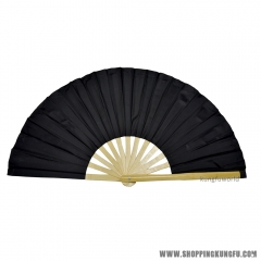 Pure Color Bamboo Tai chi Fan