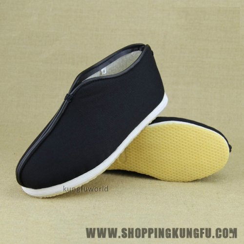 Handmade Winter Buddhist Monk Taoist Tai chi Kung fu Shoes Wushu Wing Chun Boots