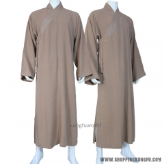 Custom Make 25 Colors Linen Buddhist Monk Dress Long Robe