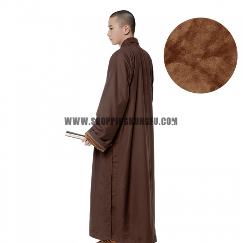 Warm Shaolin Buddhist Monk Winter Robe
