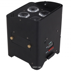 5 in 1 battery power & wireless dmx par