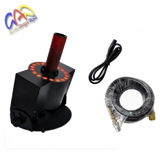 18x3w led co2 jet-machine