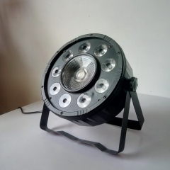 9pcs led+1 cob Led Par Light