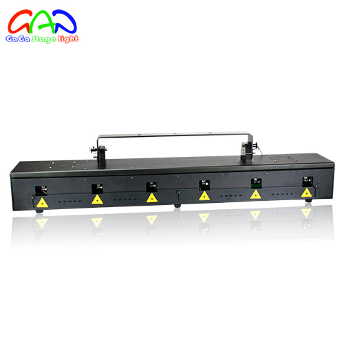 RGB500mw laser array with scanner