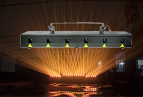 RGB Laser Beam Bar