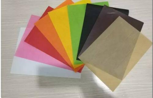 國產彩色防油紙
