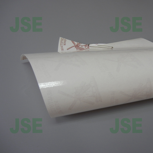 110g white PET coated paper