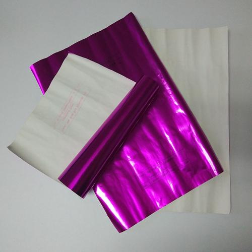 60g玫紅鋁箔復合紙