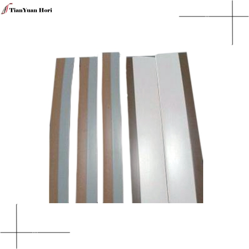 hot products quality supplier plastic t shaped metal edge trimmer kitchen cabinet pvc edge strip