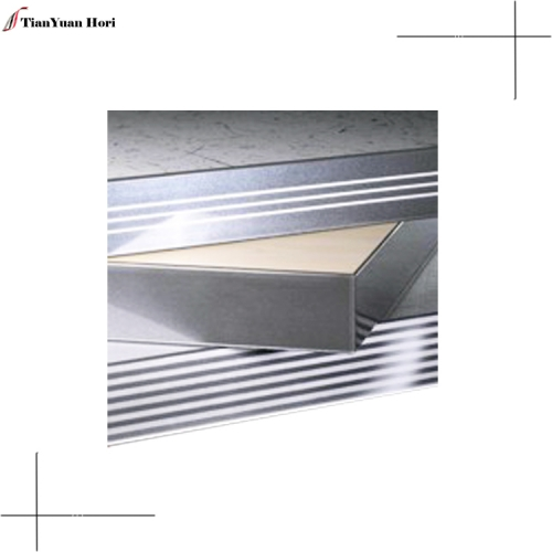 hot products quality supplier countertop edging strip aluminum woodgrain edge banding