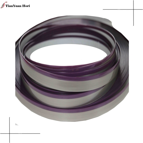 New hot selling products t shape metal edge trimmer plastic furniture colored pvc edge banding