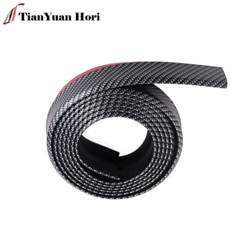 Most popular product waterproof Rubber Bumper Protector Front Lip Car Bumper Protector Strips