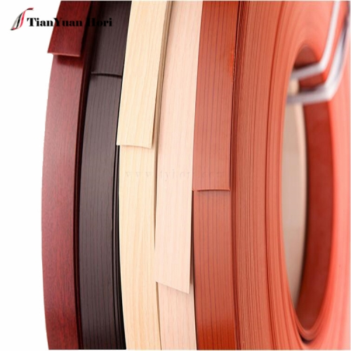 China pvc factory restaurant chairs and tables plastic woodgrain edge banding trim