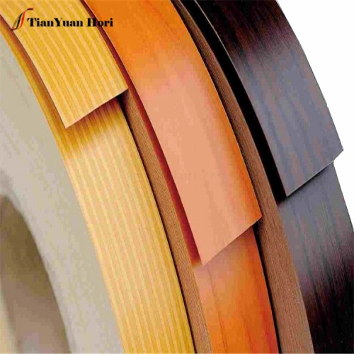 Customer Design wood grain color OEM thin pvc protective edge banding