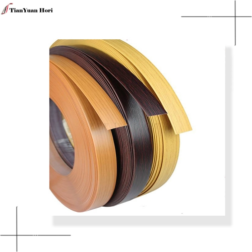 New hot selling products lowes edge tape wood grain edge banding for 25mm
