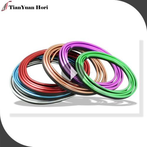factory direct sale Flexible Fashion Car Interior decor line car decoration moulding trim strip line